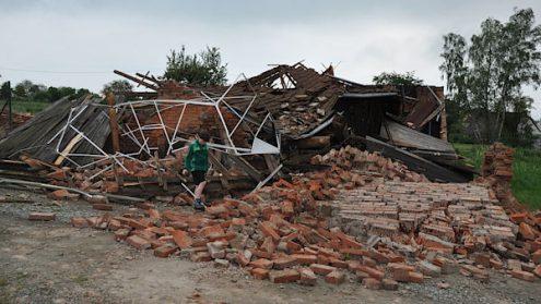 В Чехии зафиксировали торнадо