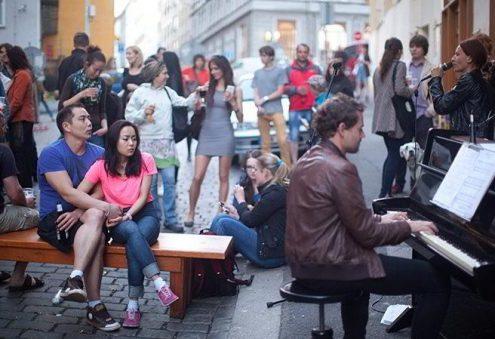 В Праге пройдет уличный фестиваль Korso Krymská