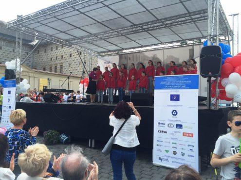 В Праге состоялся концерт детских хоров из Чехии и России