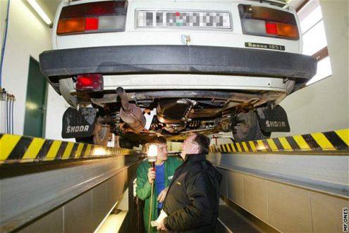 Министерство транспорта Чехии изменит порядок прохождения техосмотра