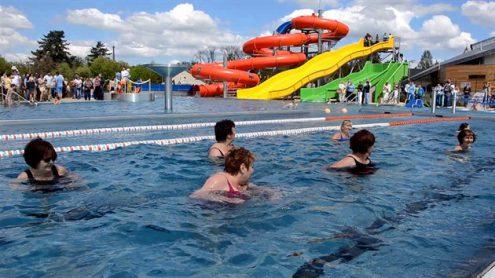 В Турнове построили открытый аквапарк