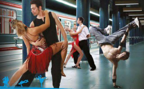 В Праге пройдет акция «Танец в метро»