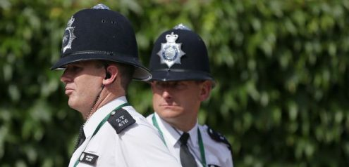 Британские полицейские задержали чеха