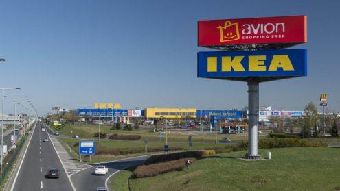 Компания IKEA продает торговые комплексы