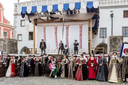 Праздник пятилепестковой розы пройдет в Чешском Крумлове