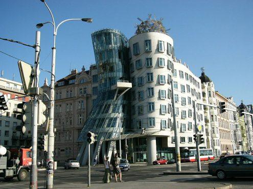 В Праге в Танцующем доме откроют отель