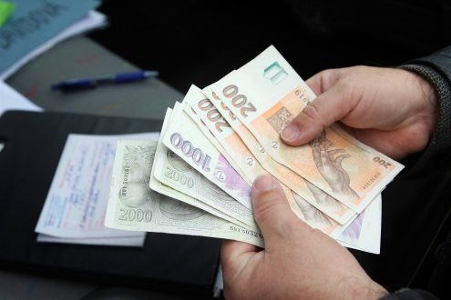 В Чехии выросла средняя заработная плата