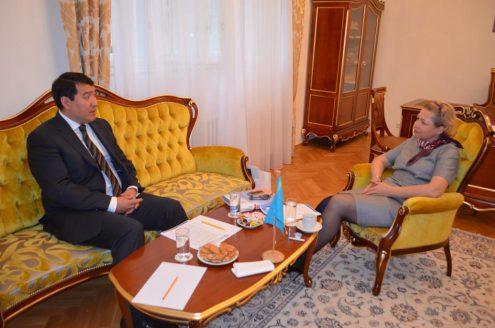 Посол Республики Казахстан Сержан Абдыкаримов