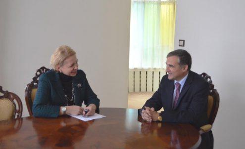 Посол Республики Азербайджан Фарид Шафиев дал интервью газете «Пражский телеграф»