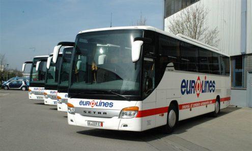 В Германии в аварию попал чешский автобус