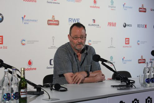 Жан Рено на кинофестивале в Карловых Варах