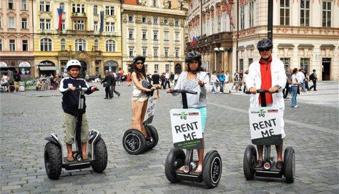 Сегвеям запретят движение не только в центре Праги