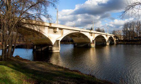 В Праге ограничили движение по Либеньскому мосту