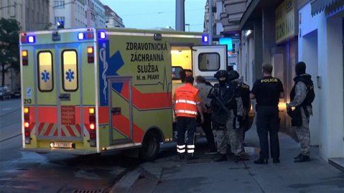 В Чехии мужчина забаррикадировался в комнате