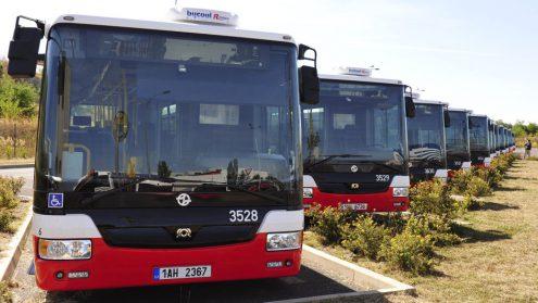 Прага планирует купить 500 новых автобусов с кондиционерами