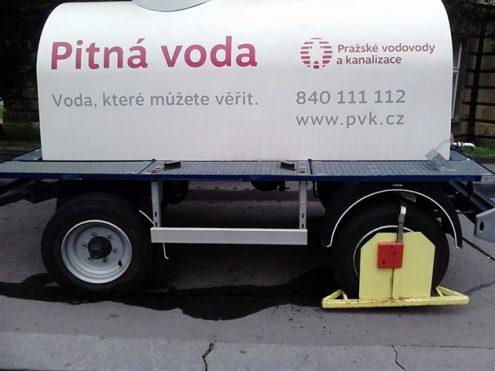 Из-за ремонта трубопровода жители Праги останутся без воды