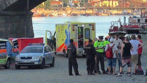 В Праге утонул мужчина