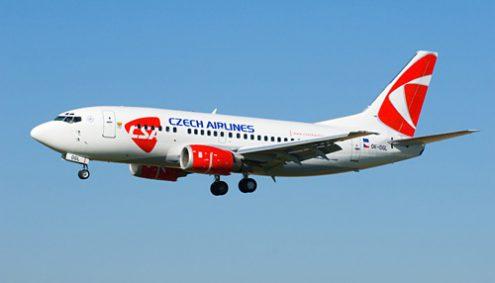Самолет чешской авиакомпании экстренно сел во Франкфурте