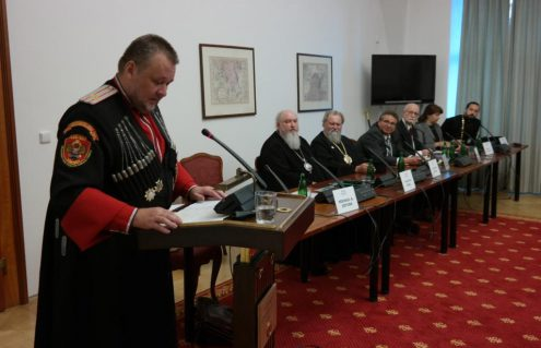 Выступление атамана ВСЧзиС Михаил Дзюбы