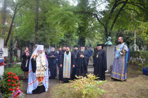 Посещение Ольшанского кладбища