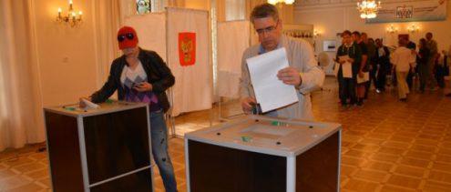 В Праге прошли выборы в Государственную Думу