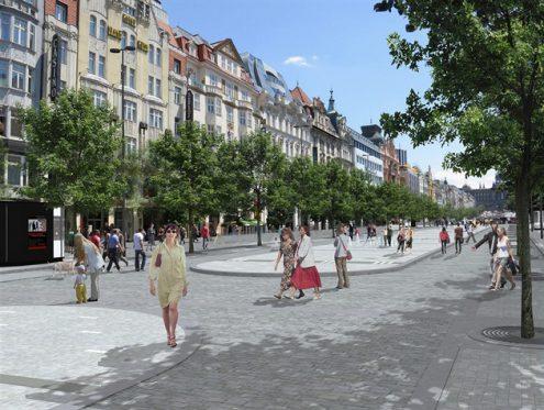 В 2017 году начнется реконструкция Вацлавской площади