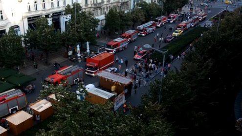 В центре Праги горел отель