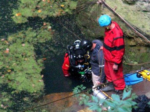 В Чехии обнаружена самая глубокая затопленная пещера в мире