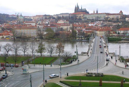 В Праге на один день закроют Манесув мост