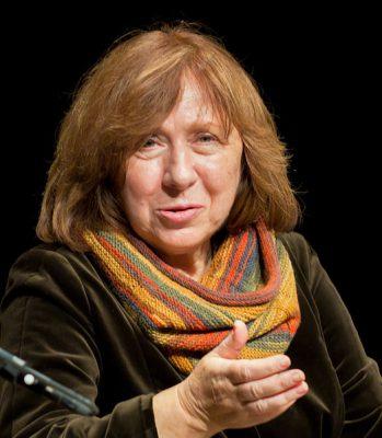 Светлана Алексиевич: «Я работаю с человеческими голосами»
