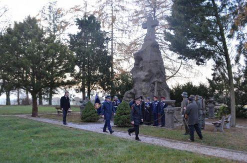 Возложение венков к памятнику «Погибшим за Отечество»