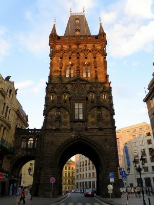 Хранилище для пороха в центре Праги