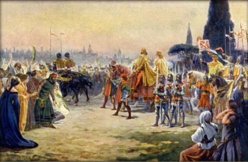Как Карлу IV отбили охоту воевать
