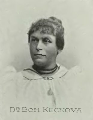 Богуслава Кецкова – первая чешка с дипломом врача