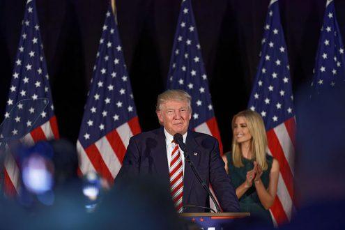 Чешская тёща Трампа празднует победу вместе с ним