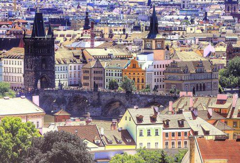Прага – город ста башен