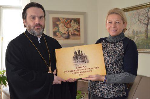 Возрождение церкви запечатлел фотоальбом