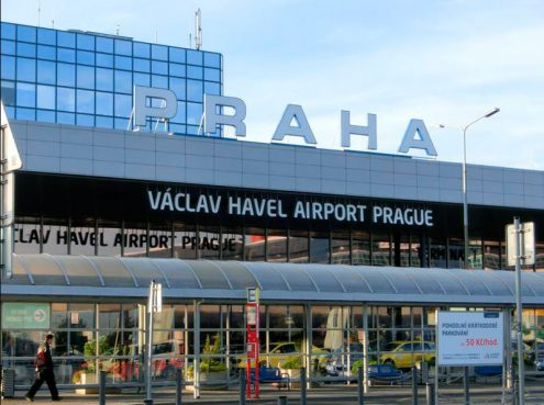 Пражский аэропорт им. Вацлава Гавела
