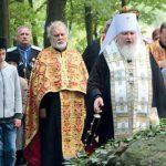 Митрополит Кирилл на Ольшанском кладбище