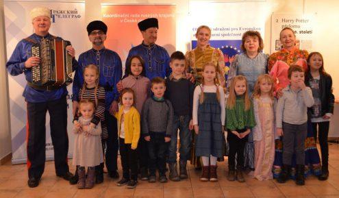 Казаки Влтавы и маленькие гости праздника