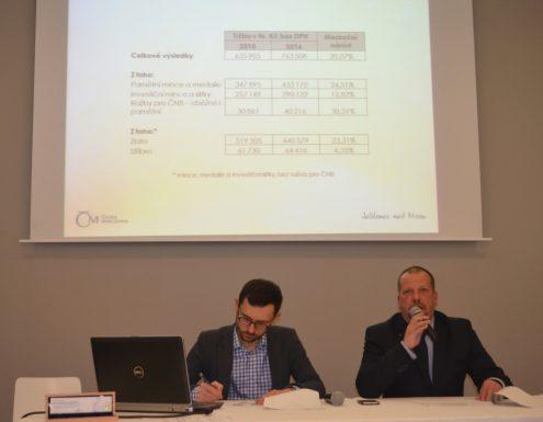 Коммерческий директор ЧМД Алеш Брикс рассказыват об итогах продаж в 2016г