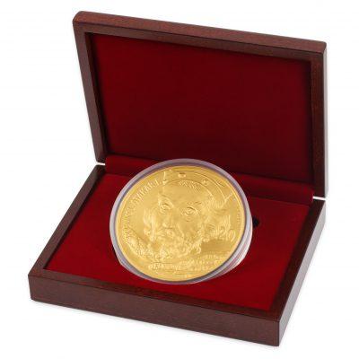 Золотая медаль весом 1 киллограм