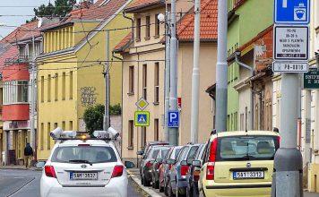 Зоны для парковки - Пражский Телеграф