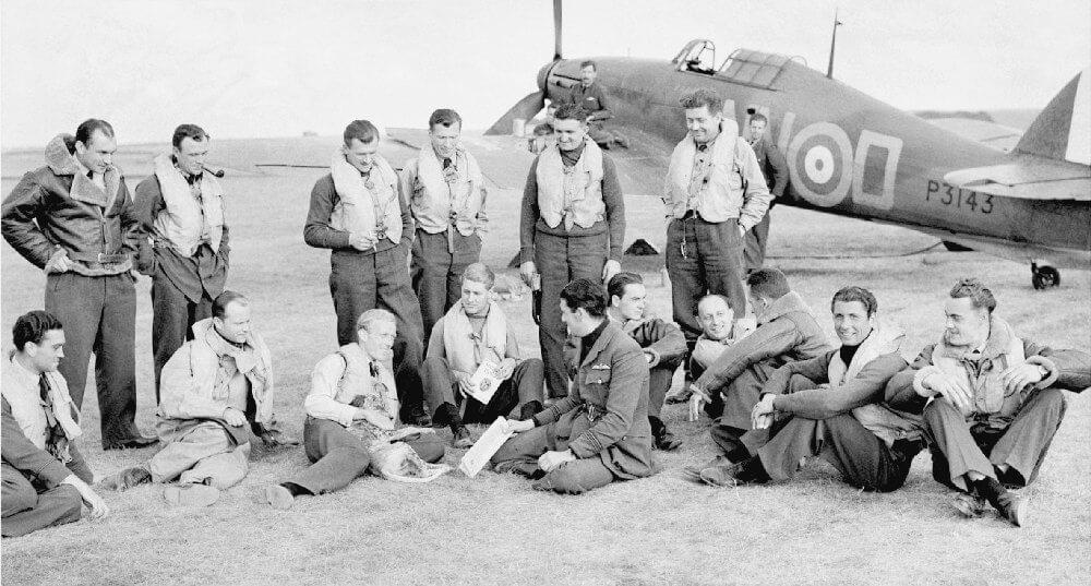 Чехословацкие лётчики в ВВС - Пражский Телеграф