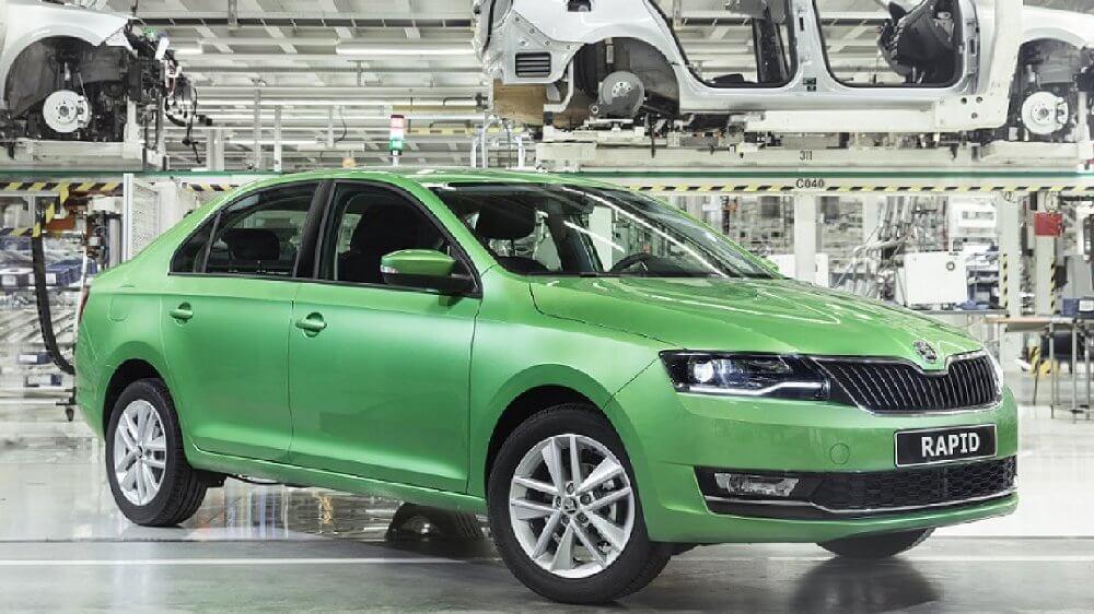 Škoda показала новый Rapid для России - Пражский Телеграф