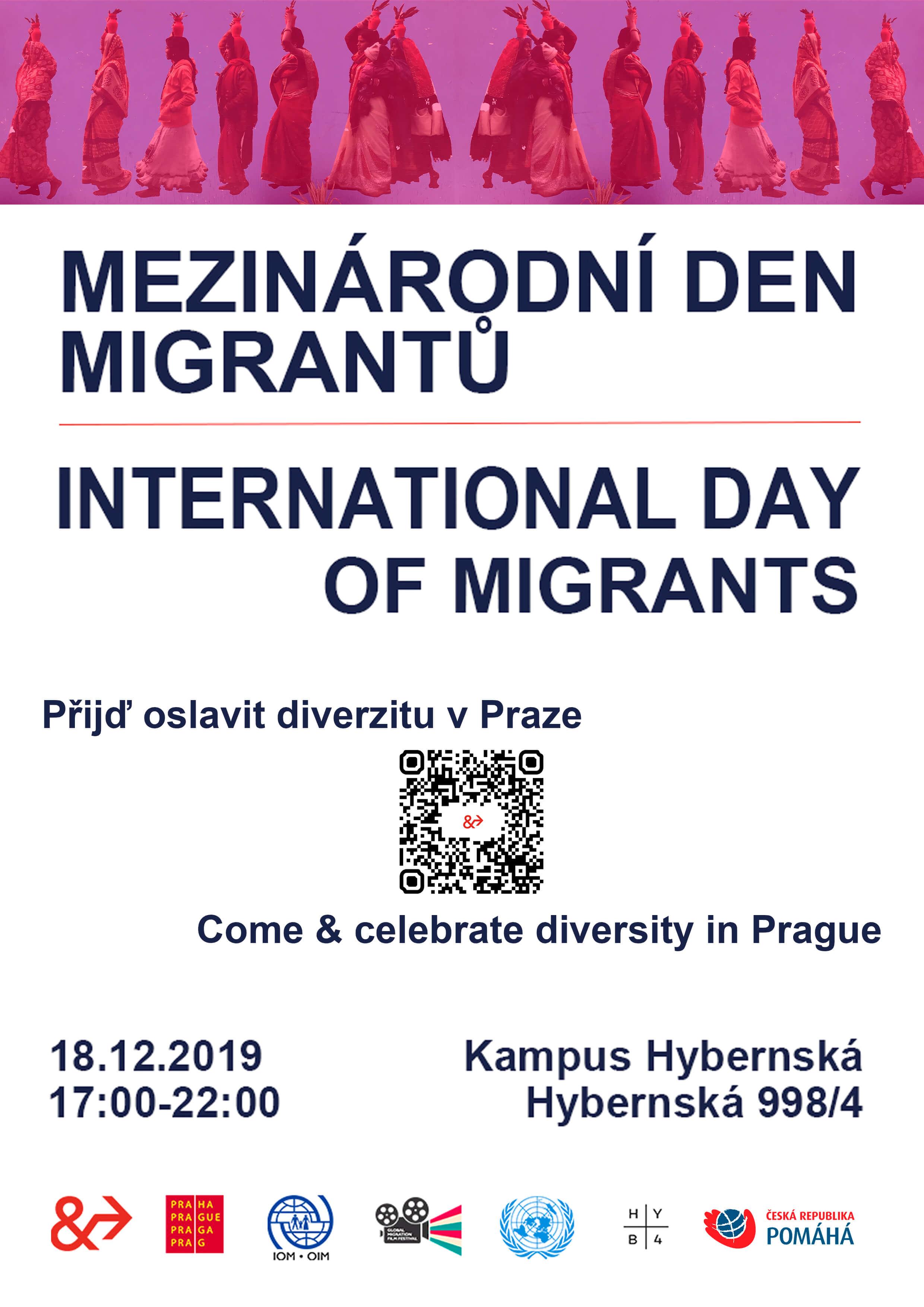 Празднование Международного дня мигрантов 18 декабря представит творчество профессиональных и любительских артистов из рядов пражских иностранцев - Пражский Телеграф