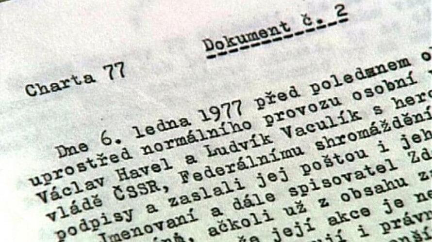 Хартия-77: как чешские диссиденты вышли в наступление - Пражский Телеграф