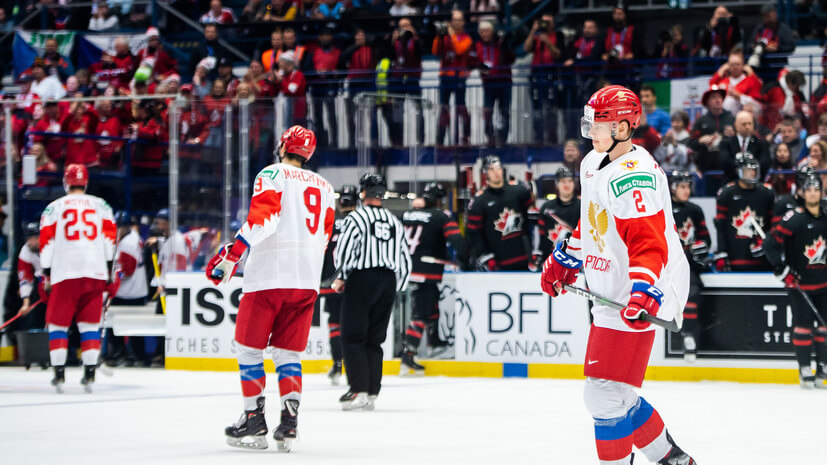 Более миллиона россиян посмотрели нетот финал чемпионата мира похоккею - Пражский Телеграф