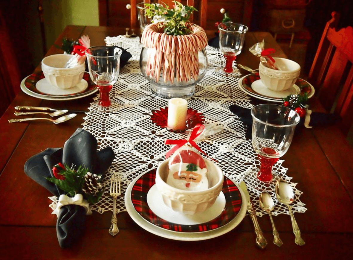 Новогодний стол в год Крысы - Пражский Телеграф
