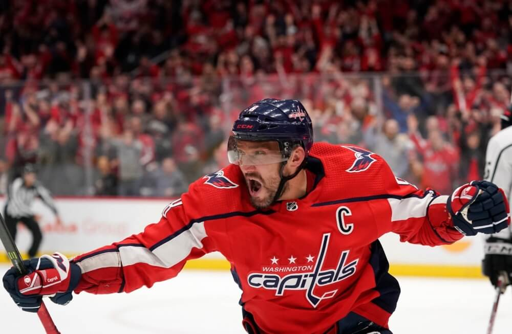 Гол Овечкина признали лучшим вистории НХЛ - Пражский Телеграф